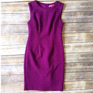 Betsey Johnson Textured Midi Sheath Dress